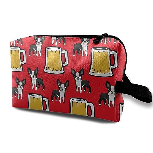 00badb9ee3af Amazon.com: Happy New Year Boston Terriers With Beer Women Makeup ...