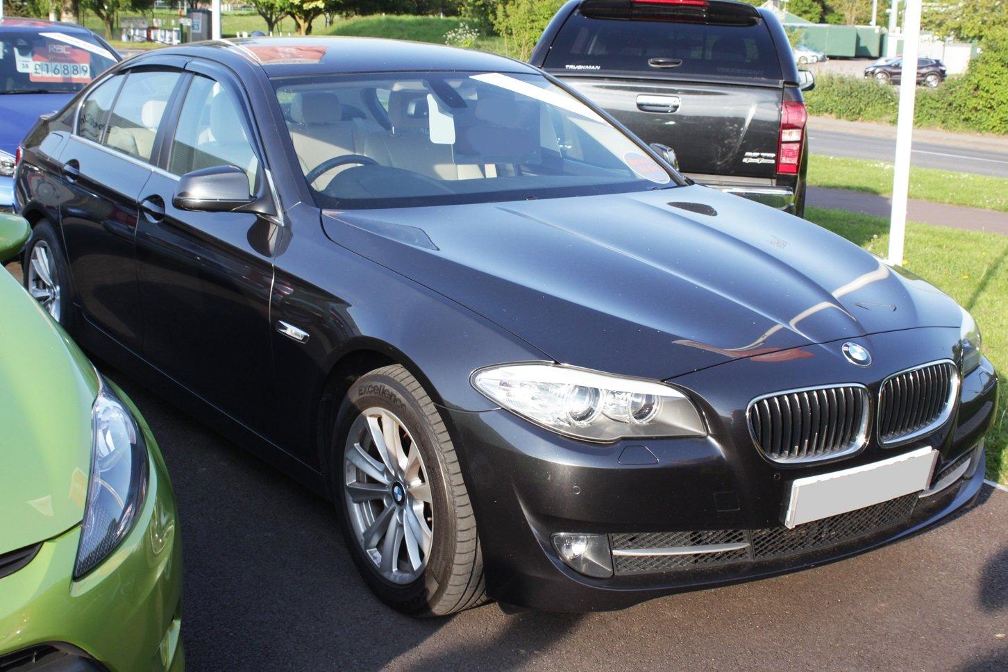 Autoclover BMW S/érie 5/F10/2010/ D/éflecteurs dair Lot de 4/pi/èces Fum/é