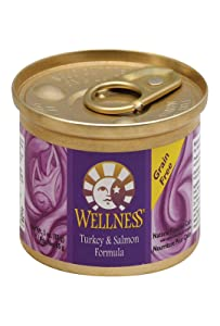 Wellness Cat Food Turkey & Salmon, 3 oz