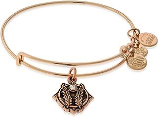 product image for Alex and Ani Women's Godspeed II ROG Bracelet, Shiny Rose Gold, Expandable