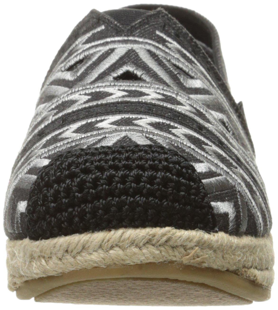 Skechers BOBS from Women's Highlights-Machu Flat B072Q1YBHN 10 B(M) US|Black