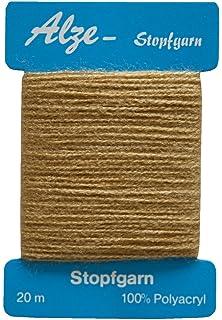 Stopfgarn Stopfwolle Baumwolle Tex 20-2-3 beige braun 25 m 8134