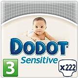 Dodot Protection Plus Sensitive - Pañales Talla 3 (5-10 kg), Paquete