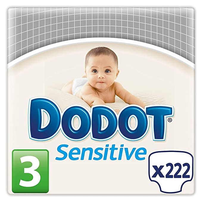 Dodot Protection Plus Sensitive Kit Recién Nacido (28 x Talla 1 + 68 x Talla 2 + 54 Toallitas Sensitive): Amazon.es: Salud y cuidado personal