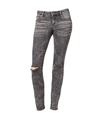 faaf4b616a6 Kut from the Kloth Women's Diana Ripped Skinny Jeans (4, Grey) at Amazon  Women's Jeans store