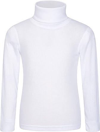Mountain Warehouse Camiseta Talus con Cuello Vuelto para niños - Camiseta con Cuello Vuelto de rápida absorción y Ligera - Ropa para niños de Invierno: Amazon.es: Ropa y accesorios