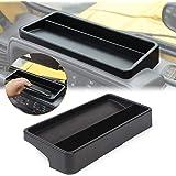 JeCar TJ Dash Tray, TJ Dash Console Tray Storage Box Organizer for Jeep Wrangler TJ 1997-2006, Secure Items & Create…
