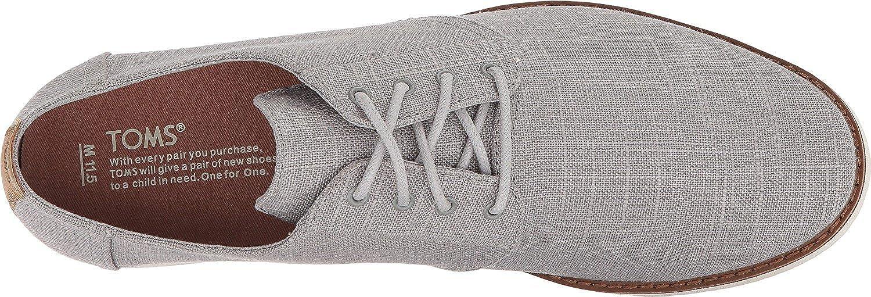 TOMS 10013221, Sneakers Basses Homme Grey Linen