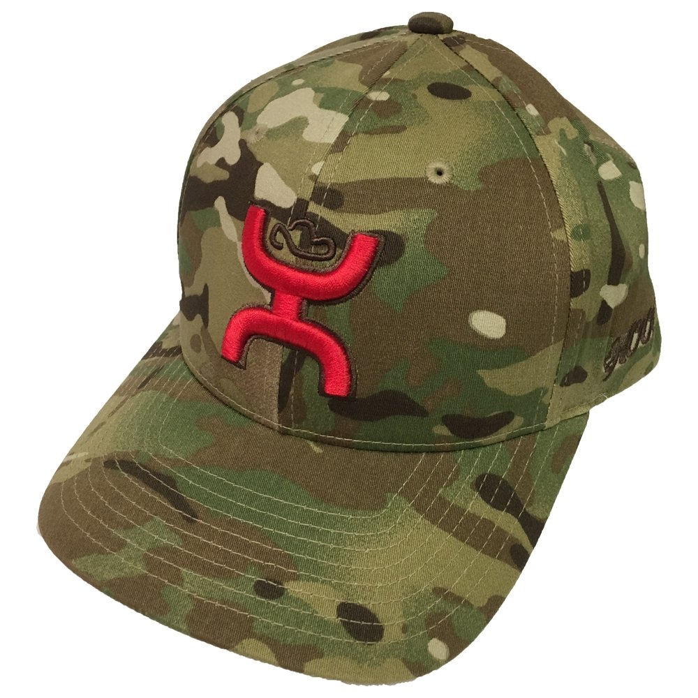 100% authentic ad440 a0d90 HOOey Brand Chris Kyle Black Multi Camo Snapback Hat - CK014 at Amazon  Men s Clothing store