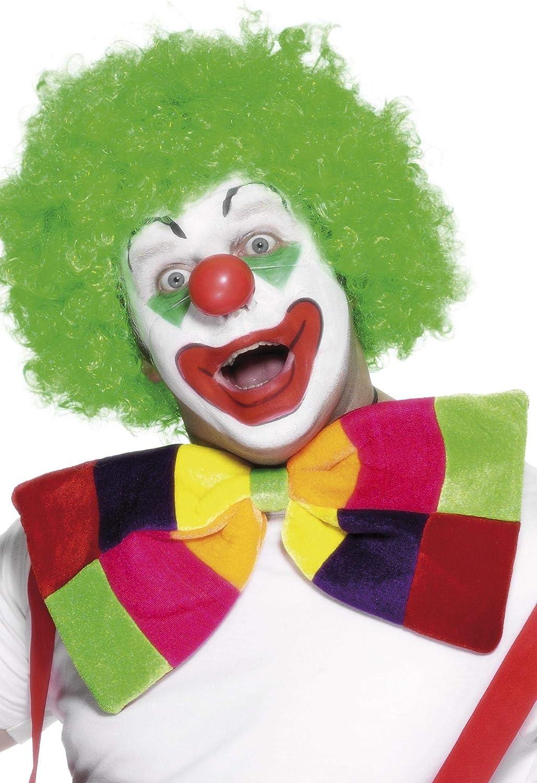 Funky Coloured Ties Clown Fancy Dress Party Bow Tie