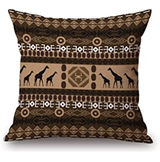 GT Kissenbezug Kreativ, Afrika, Muster, Leinen Baumwoll Bedrucken  Dekorative Kissenhülle Sofa Kissenbezug,