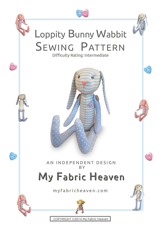 2 x tela patrones de costura diseño independiente. 10 Inch - Muñeca ...