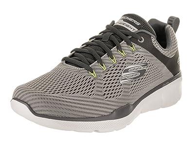 Skechers Men s Equalizer 3.0 - Wide Gray Charcoal Lifestyle Shoe 7 Men US c99bc0326d693
