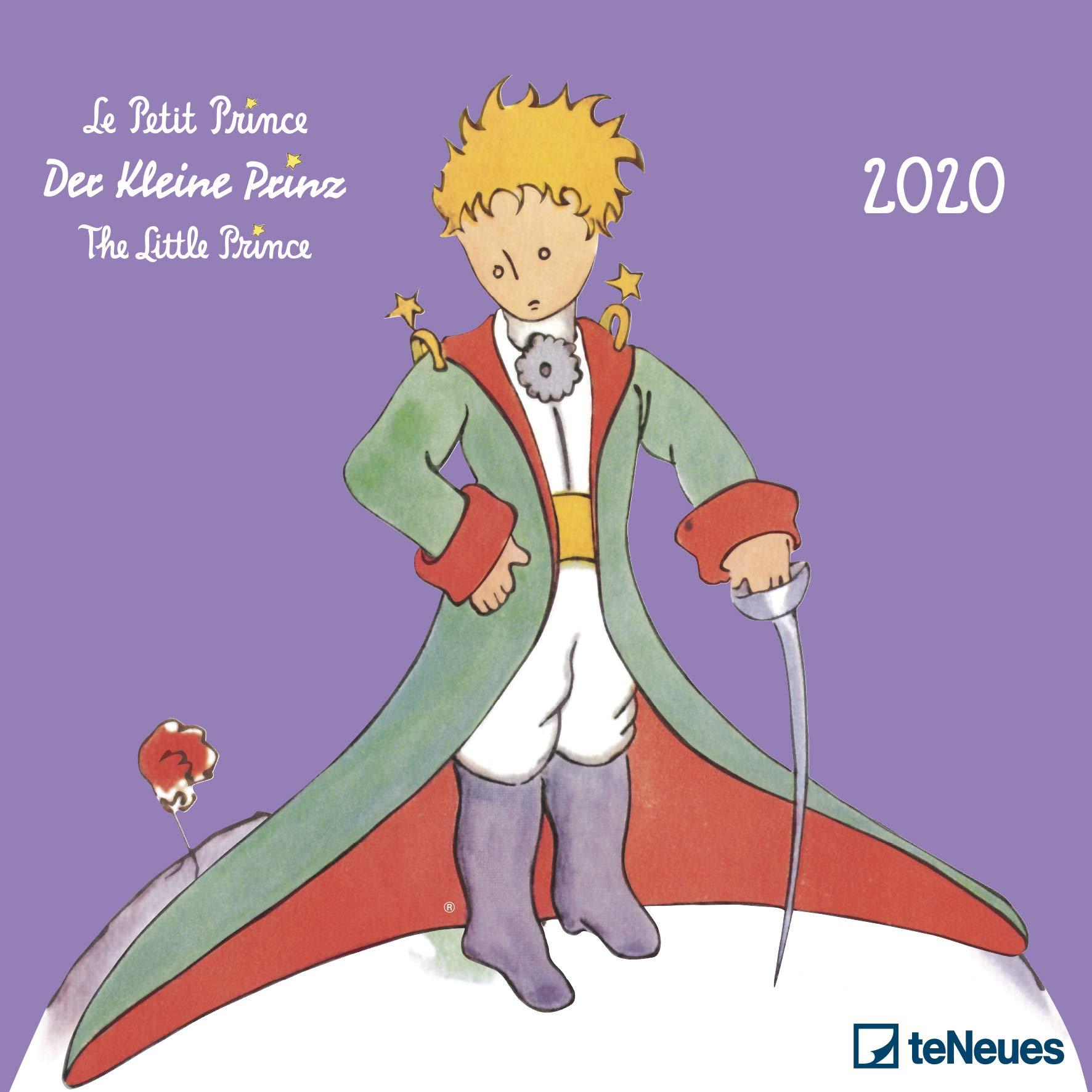 Der Kleine Prinz 2020   Broschürenkalender   Wandkalender   Kunstkalender   30x30cm   Kinderkalender   Le Petit Prince   The Little Prince