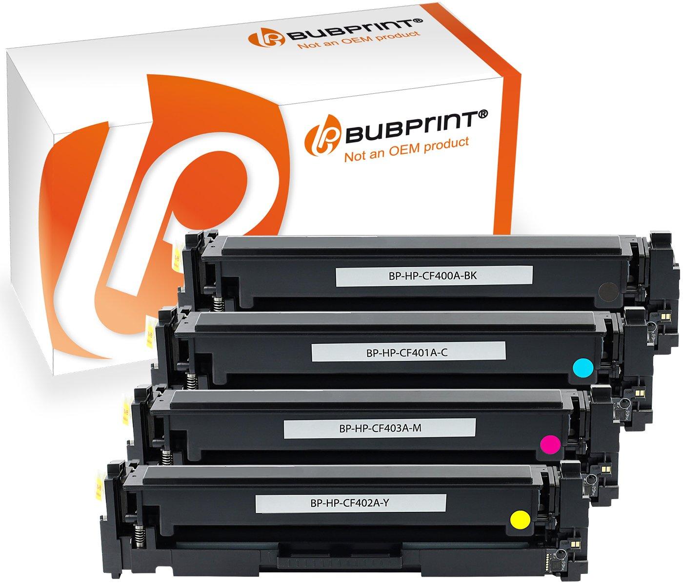 4 Tóner compatible para HP cf400 a - cf403 a CF 400 A - CF 403 A ...