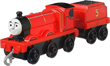 Thomas The Tank Engine Trackmaster Push le long de gros moteur James Original