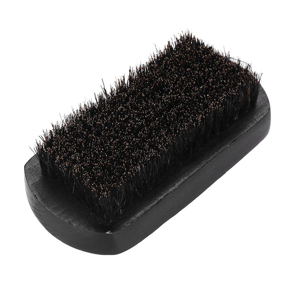 Beard Brush for Men, Oval Soft Bristle Shape Hair Removal Mustache Shaving Brush Sweep Hair Brush Face Care Shaving Cleaning Grooming Tool Filfeel