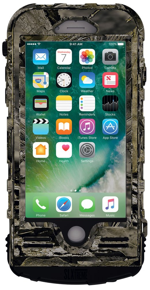 SnowLizard SLXtreme iPhone 8 Case. Solar Powered, Rugged and Waterproof with a built in Battery - Mossy Oak by Snow Lizard Products (Image #2)