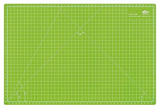 108 opinioni per Wedo 079245 Cutting Mat, 45 cm, Tappetino da Taglio 450x300x3 mm, Verde Mela