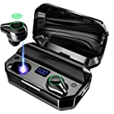 Wireless Earbuds Bluetooth 5.0 with 8000mAh Charging Case LED Battery Display 240H Playtime IPX7 Waterproof TWS Stereo…