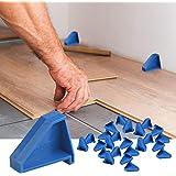 Flooring Spacers,Laminate Wood Flooring Tools,Compatible w/Vinyl Plank, Hardwood & Floating Floor Installation etc,Hardwood F