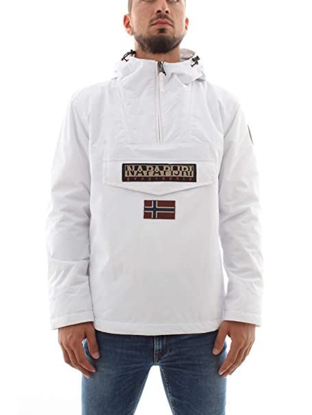 Blanco Hombre Winter bright Chaqueta Napapijri Rainforest Para PXSPAx