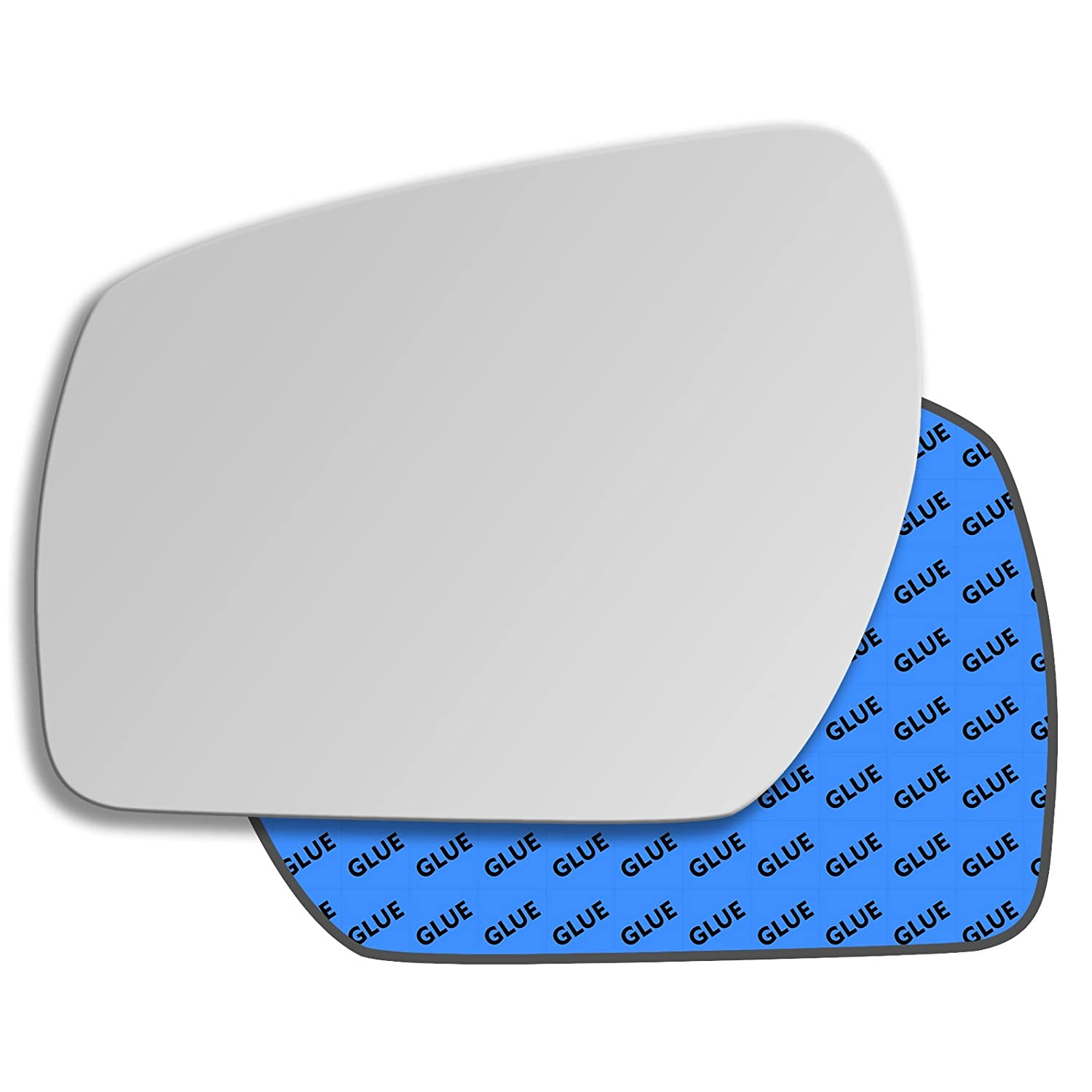 Clip On Driver right hand side Heated wing door Silver mirror glass with backing plate #C-SHY//R-OLCAE14
