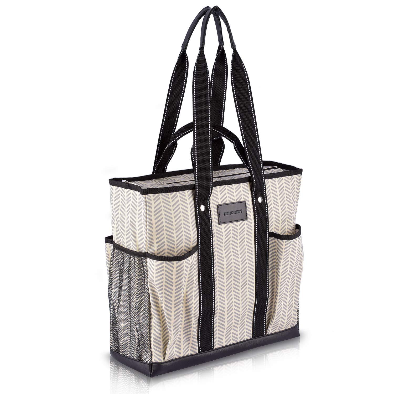 Canvas Tote Shopping Bag Utility Teacher Nurse Organizer Handbag Bag DEMOMENT