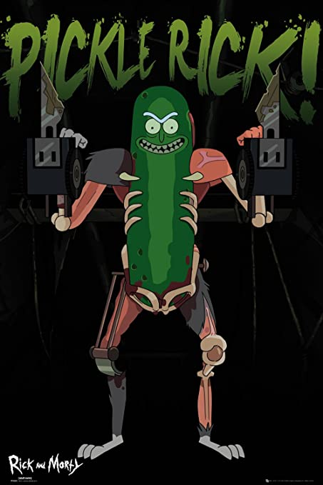 GB Eye, Rick y Morty, Pickle Rick, Maxi Poster