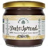 NUNATURE 100% Natural Dates Spread - Pure Medjool Dates, Gluten & Sugar Free, Vegan, Paleo Friendly, Non-GMO, Dairy Free, Hea