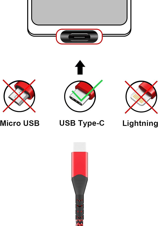 Fundro Usb C Ladekabel Typ C Nylon 3a Kabel Ladekabel Elektronik