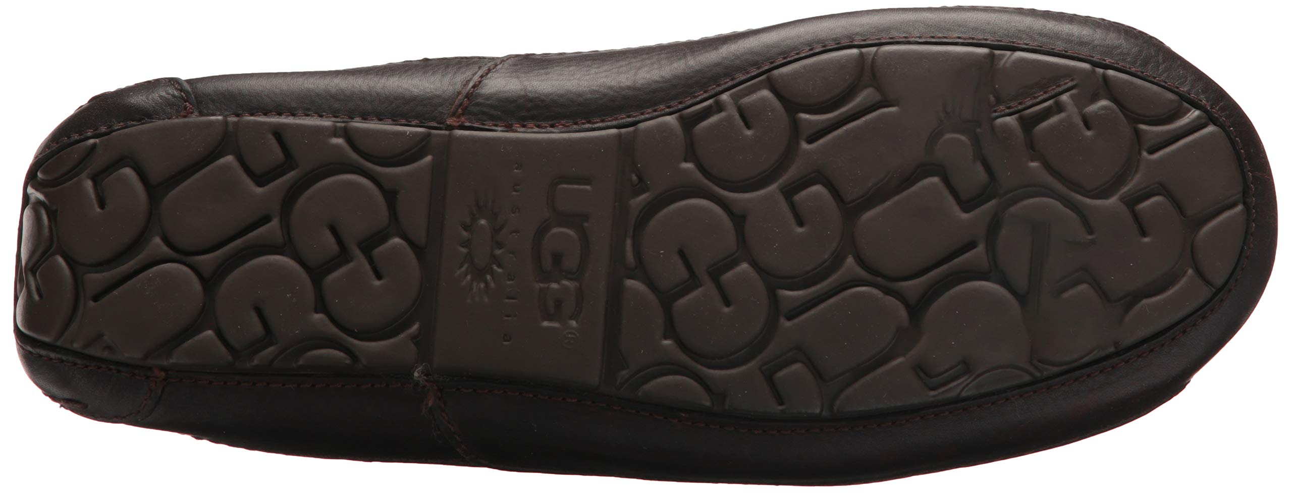 UGG Men's Ascot Slipper, China Tea Leather, 15 M US by UGG (Image #3)