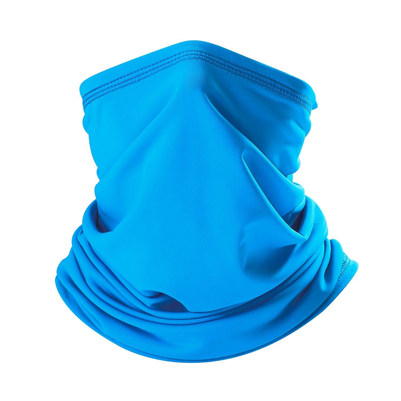 Dust Sun UV Protection Neck Gaiter for Men /& Women Guangzhou yuzhong Fishing Articles Co THINDUST Summer Bandana Face Mask Ltd