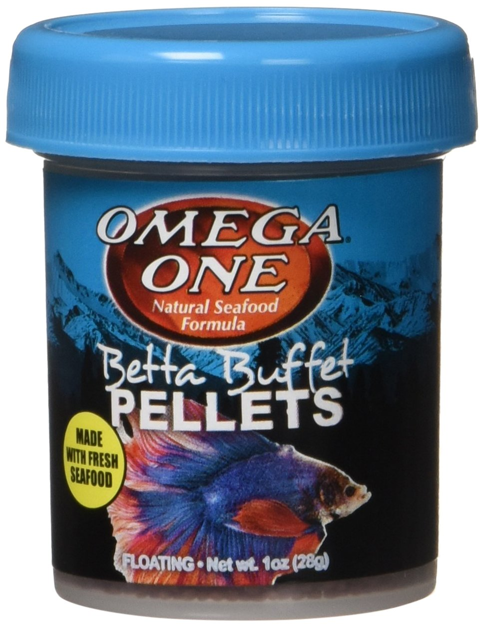 Omega One Betta Buffet Pellets Betta Food   1oz by Omega One