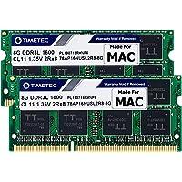 Timetec Hynix IC Apple 16GB Kit (2x8GB) DDR3L 1600MHz PC3L-12800 SODIMM Memory Upgrade for MacBook Pro13-inch/15-inch…