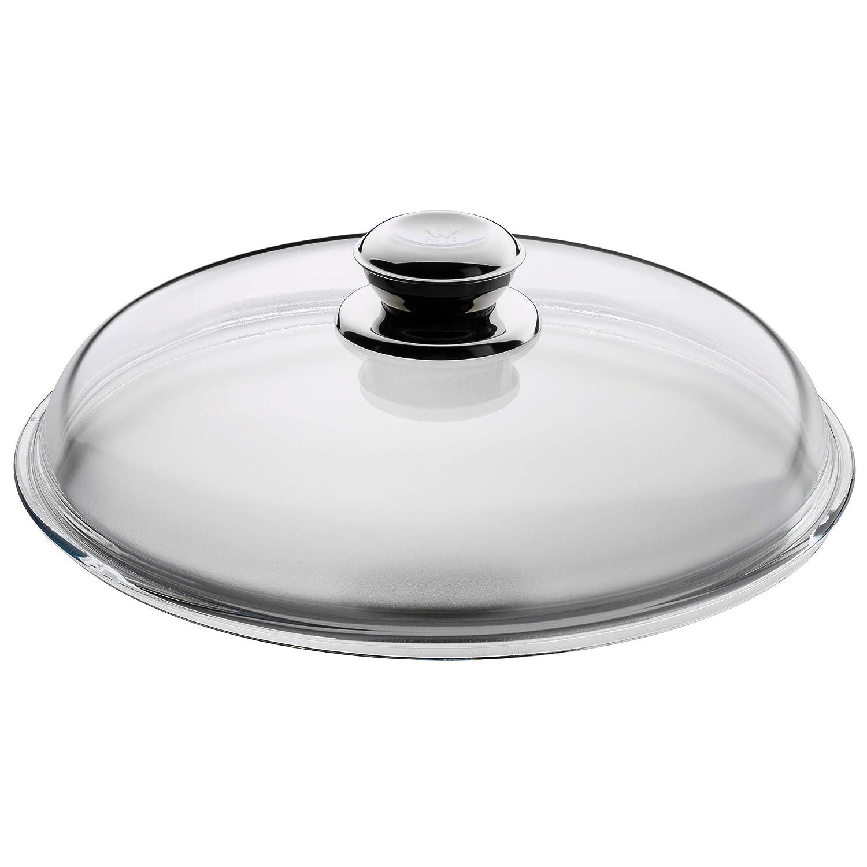 WMF Glasdeckel mit Metallknauf für Pfannen 20 cm Bratpfanne Deckel Pfannendeckel