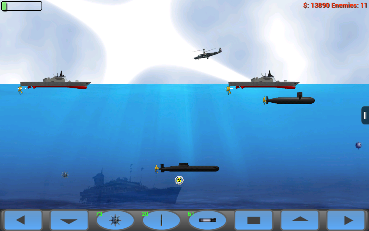 Amazon Com Beach Hd Wallpapers Appstore For Android: Amazon.com: Submarine Attack! HD: Appstore For Android