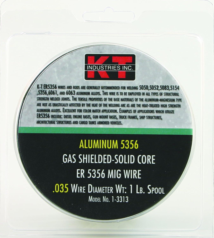 K-T Industries 1-3313 Aluminum 5356 035 Mig Wire 1 Lb - - Amazon.com