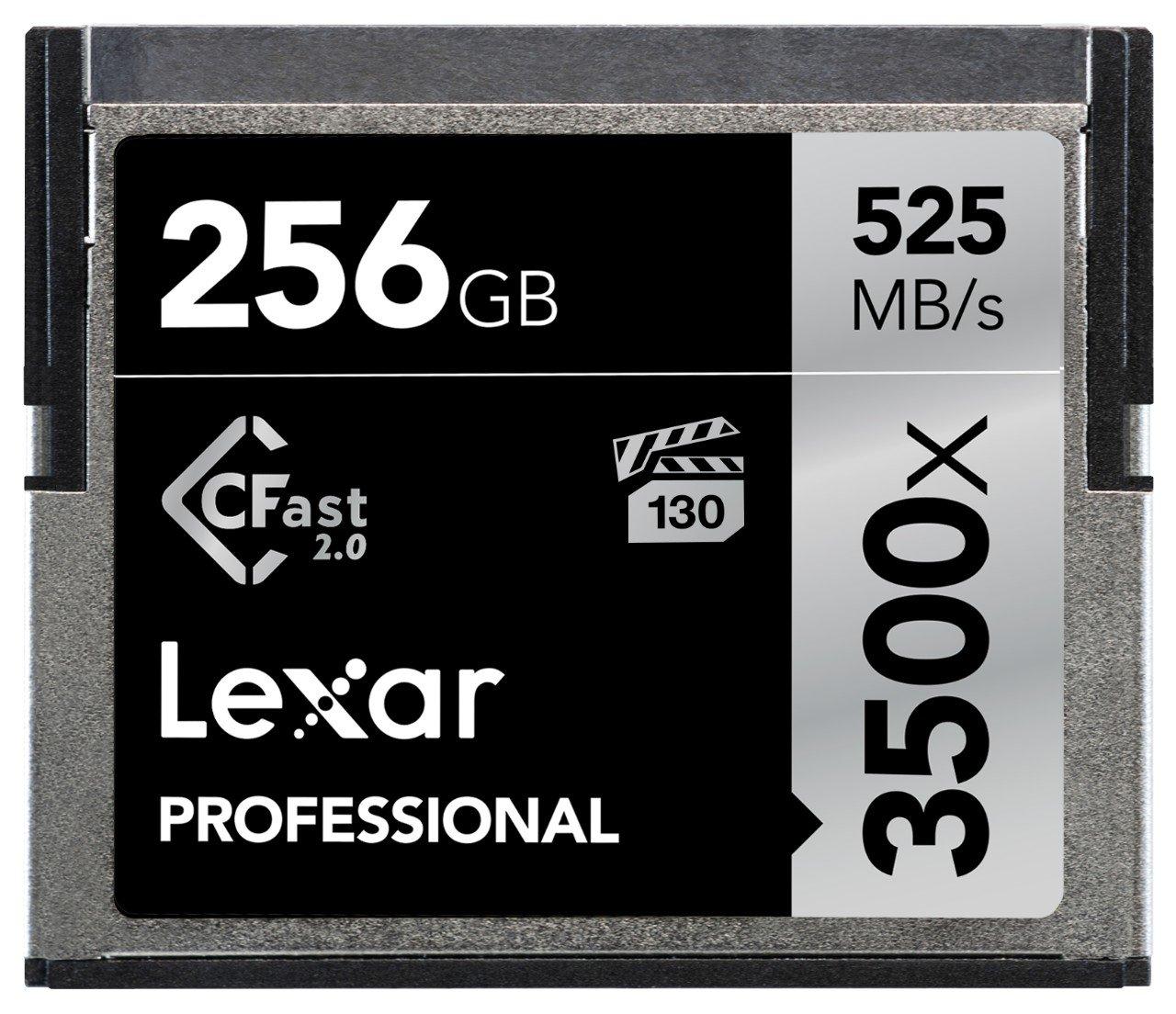 Lexar 32GB 3500x Pro CFast Compact Flash Card - LC32GCRBEU3500 LEXAR MEDIA INC 2.0 Professional