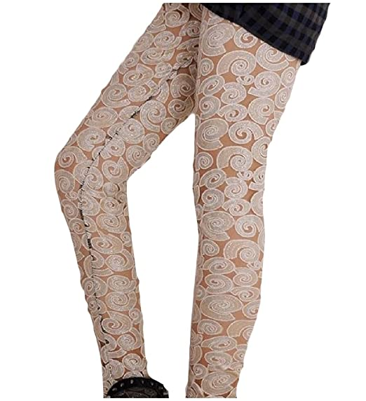 d948441e58e51 YUNY Womens Tights Patch Yoga Lace up Detail Funky Tights Leggings AS1 One  Size