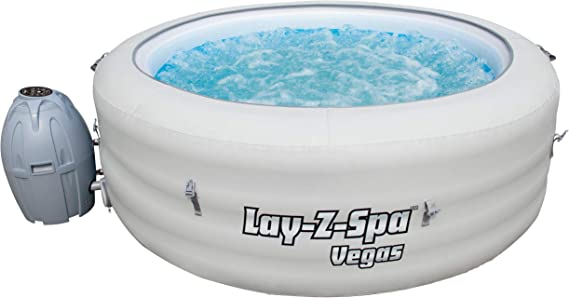 BESTWAY 54112 Lay-Z-SPA Vegas Airjet, M: Amazon.es: Deportes y ...