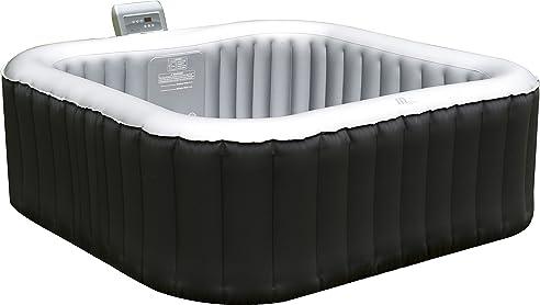 PureSpa Aufblasbarer Whirlpool mit Heizfunktion (bis 42°C ...