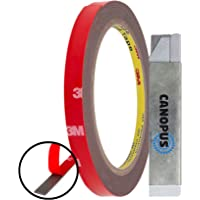 CANOPUS 3M Extra Sterk Dubbelzijdige Plakband, 3M Dubbelzijdige Tape (8 mm x 3 m), Waterdichte Montagetape, Ideaal Voor…