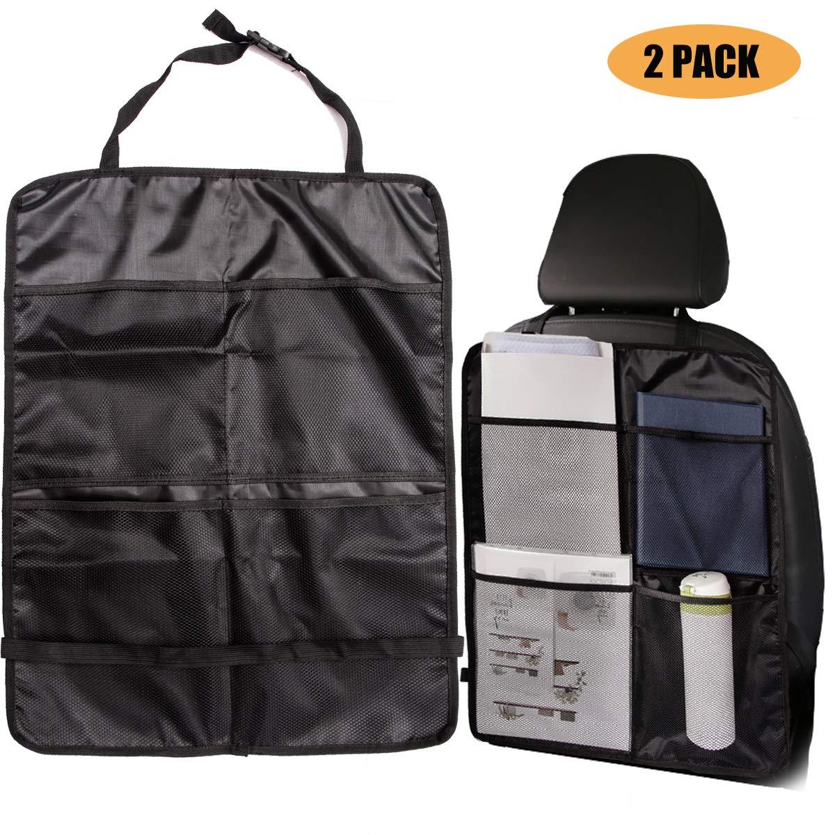 WildAuto - Organizzatore di sedili per auto - Borsa di stoccaggio - Borsa calda e fredda per la conservazione del caldo - Bevande Cooler - Travel Camping UK-Car back seat bag