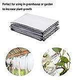 6 Pack High Silver Reflective Mylar Film, Garden