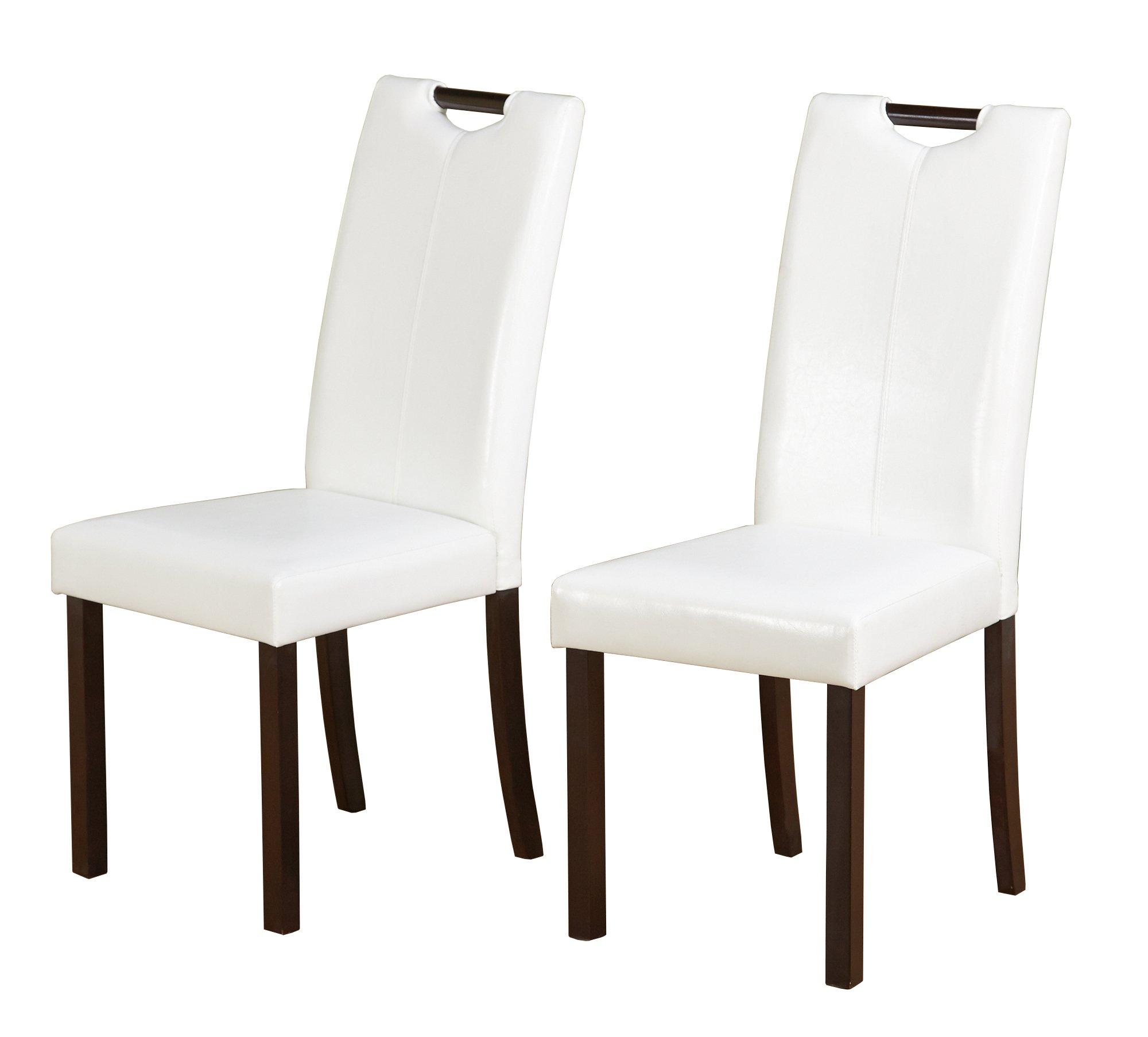 Target Marketing Systems 18018WHT PR Tilo Dining Chairs White by Target Marketing Systems