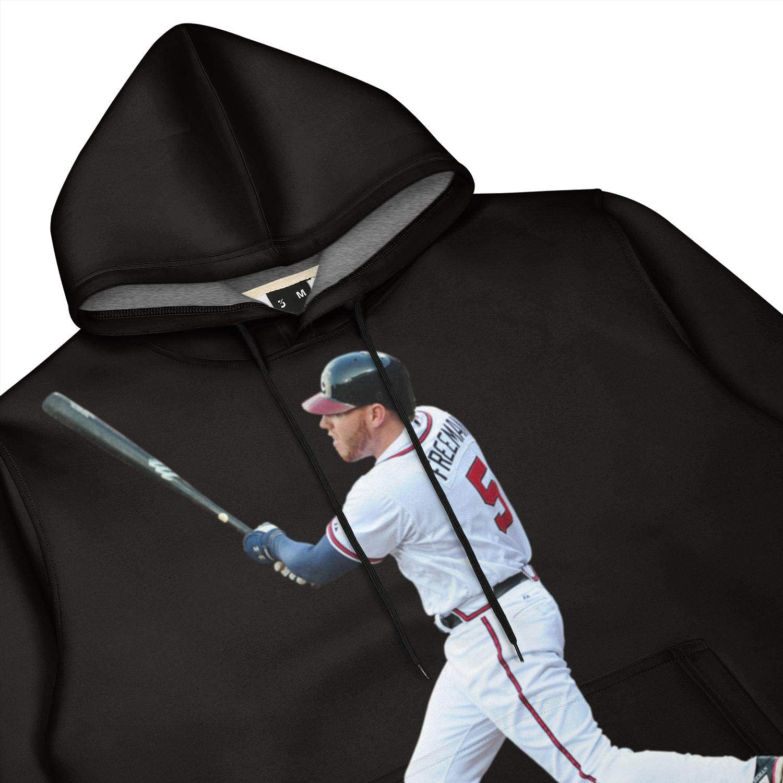 Hoodies Pullover Hoodie Mens Camo Sweatshirts Navy-Freddie-Freeman-5
