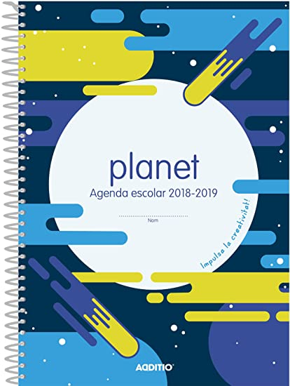 Additio A121 - Agenda Planet 2018-19 para educación primaria ...