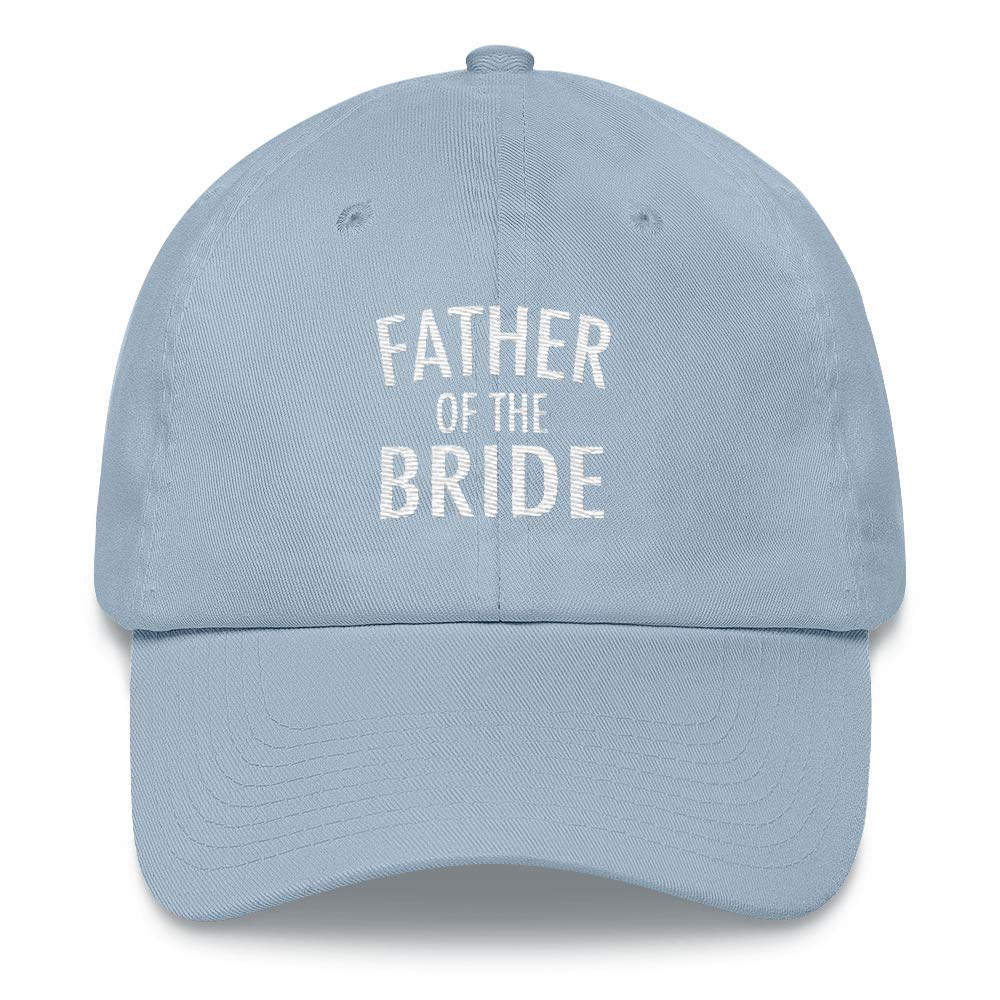 CadburyChihuahua Father of The Bride Embroidered Hat Gift for Dad of Bride Daughter Wedding Father in Law Gift
