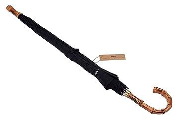 (Diseñado en G. Bretaña) Paraguas bastón Balios® de bambú Whangee, a